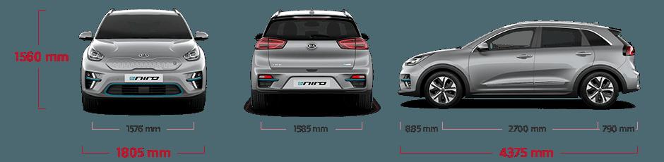 Kia e-Niro Technische Daten