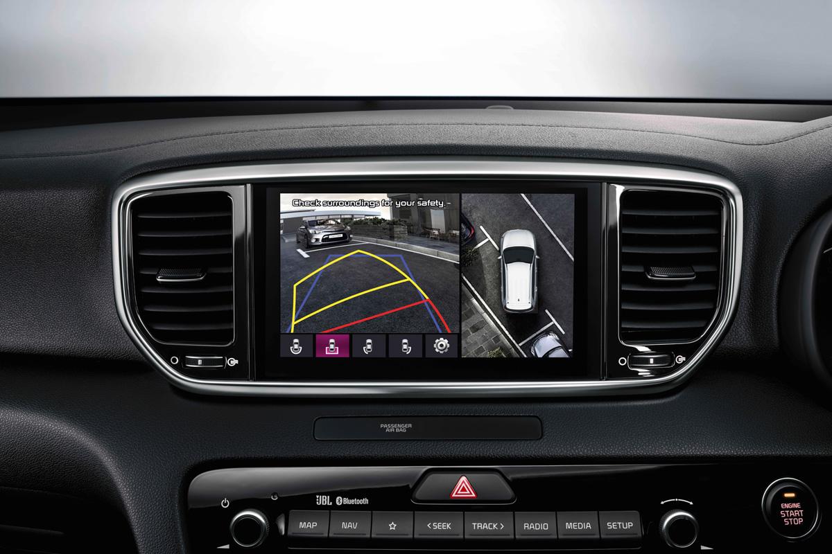 Kia Sportage Navigationssystem