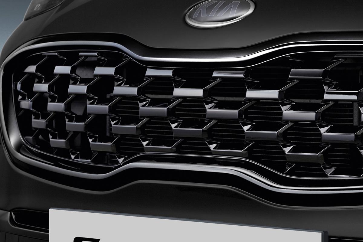 Kia Sportage Black Edition Kühlergrill