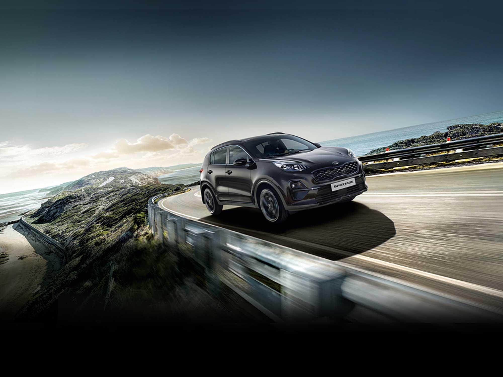 Kia Sportage Black Edition Slider