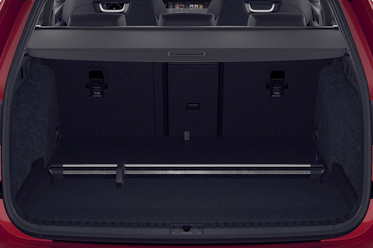 Octavia-Combi--RS-IV--Kofferraum