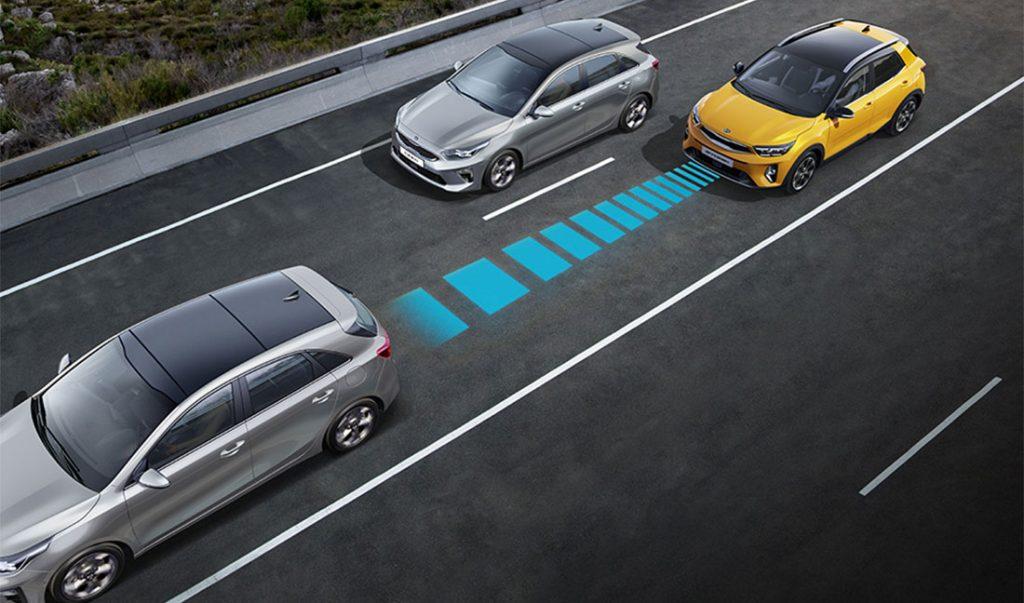 Kia Stonic Adaptive Geschwindigkeitsregelanlage
