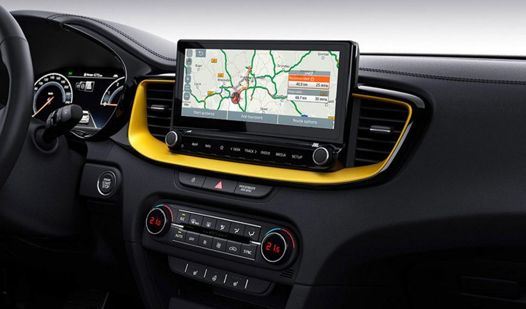 Kia XCeed Navigationssystem